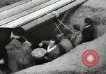 Image of excavation work Africa, 1955, second 55 stock footage video 65675062963