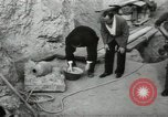 Image of excavation work Africa, 1955, second 61 stock footage video 65675062963