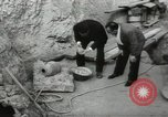 Image of excavation work Africa, 1955, second 62 stock footage video 65675062963