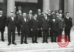 Image of American dignitaries United States USA, 1960, second 42 stock footage video 65675062964