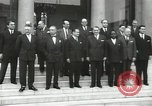 Image of American dignitaries United States USA, 1960, second 43 stock footage video 65675062964