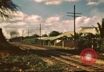 Image of railroad station Hawaii USA, 1942, second 5 stock footage video 65675062970