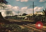 Image of railroad station Hawaii USA, 1942, second 11 stock footage video 65675062970