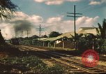 Image of railroad station Hawaii USA, 1942, second 13 stock footage video 65675062970