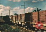 Image of railroad station Hawaii USA, 1942, second 22 stock footage video 65675062970