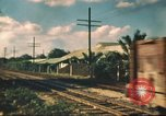 Image of railroad station Hawaii USA, 1942, second 24 stock footage video 65675062970