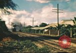 Image of railroad station Hawaii USA, 1942, second 26 stock footage video 65675062970