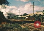 Image of railroad station Hawaii USA, 1942, second 27 stock footage video 65675062970