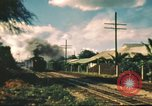 Image of railroad station Hawaii USA, 1942, second 30 stock footage video 65675062970