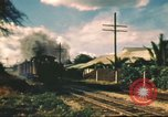 Image of railroad station Hawaii USA, 1942, second 32 stock footage video 65675062970
