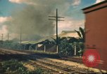 Image of railroad station Hawaii USA, 1942, second 38 stock footage video 65675062970