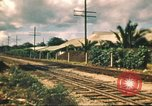 Image of railroad station Hawaii USA, 1942, second 42 stock footage video 65675062970
