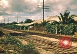 Image of railroad station Hawaii USA, 1942, second 43 stock footage video 65675062970