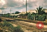 Image of railroad station Hawaii USA, 1942, second 45 stock footage video 65675062970