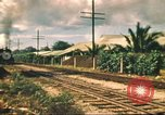 Image of railroad station Hawaii USA, 1942, second 52 stock footage video 65675062970