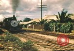 Image of railroad station Hawaii USA, 1942, second 57 stock footage video 65675062970