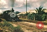 Image of railroad station Hawaii USA, 1942, second 58 stock footage video 65675062970