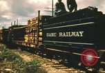Image of railroad station Hawaii USA, 1942, second 62 stock footage video 65675062970