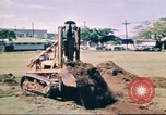 Image of Digging air raid shelters in Hawaii at start of World War II Hawaii USA, 1942, second 15 stock footage video 65675062971