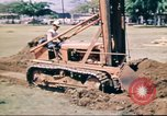 Image of Digging air raid shelters in Hawaii at start of World War II Hawaii USA, 1942, second 26 stock footage video 65675062971