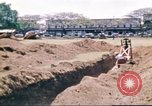 Image of Digging air raid shelters in Hawaii at start of World War II Hawaii USA, 1942, second 28 stock footage video 65675062971