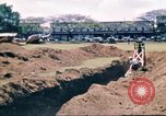Image of Digging air raid shelters in Hawaii at start of World War II Hawaii USA, 1942, second 29 stock footage video 65675062971