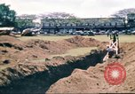 Image of Digging air raid shelters in Hawaii at start of World War II Hawaii USA, 1942, second 30 stock footage video 65675062971