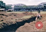 Image of Digging air raid shelters in Hawaii at start of World War II Hawaii USA, 1942, second 32 stock footage video 65675062971