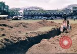 Image of Digging air raid shelters in Hawaii at start of World War II Hawaii USA, 1942, second 36 stock footage video 65675062971