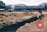 Image of Digging air raid shelters in Hawaii at start of World War II Hawaii USA, 1942, second 39 stock footage video 65675062971
