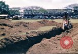 Image of Digging air raid shelters in Hawaii at start of World War II Hawaii USA, 1942, second 42 stock footage video 65675062971