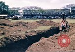 Image of Digging air raid shelters in Hawaii at start of World War II Hawaii USA, 1942, second 43 stock footage video 65675062971