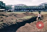 Image of Digging air raid shelters in Hawaii at start of World War II Hawaii USA, 1942, second 44 stock footage video 65675062971