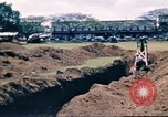 Image of Digging air raid shelters in Hawaii at start of World War II Hawaii USA, 1942, second 45 stock footage video 65675062971