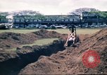 Image of Digging air raid shelters in Hawaii at start of World War II Hawaii USA, 1942, second 47 stock footage video 65675062971