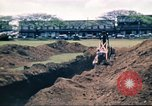 Image of Digging air raid shelters in Hawaii at start of World War II Hawaii USA, 1942, second 48 stock footage video 65675062971