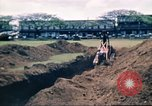 Image of Digging air raid shelters in Hawaii at start of World War II Hawaii USA, 1942, second 49 stock footage video 65675062971