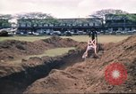 Image of Digging air raid shelters in Hawaii at start of World War II Hawaii USA, 1942, second 50 stock footage video 65675062971