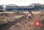 Image of Digging air raid shelters in Hawaii at start of World War II Hawaii USA, 1942, second 51 stock footage video 65675062971
