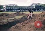 Image of Digging air raid shelters in Hawaii at start of World War II Hawaii USA, 1942, second 52 stock footage video 65675062971