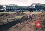 Image of Digging air raid shelters in Hawaii at start of World War II Hawaii USA, 1942, second 53 stock footage video 65675062971