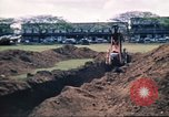 Image of Digging air raid shelters in Hawaii at start of World War II Hawaii USA, 1942, second 55 stock footage video 65675062971