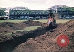 Image of Digging air raid shelters in Hawaii at start of World War II Hawaii USA, 1942, second 56 stock footage video 65675062971