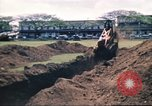 Image of Digging air raid shelters in Hawaii at start of World War II Hawaii USA, 1942, second 57 stock footage video 65675062971