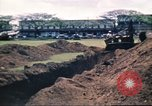 Image of Digging air raid shelters in Hawaii at start of World War II Hawaii USA, 1942, second 60 stock footage video 65675062971