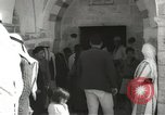 Image of Annual pilgrimage to Nabi Musa (Tomb of Prophet Moses) Palestine, 1945, second 19 stock footage video 65675062974