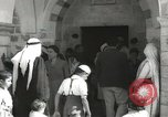 Image of Annual pilgrimage to Nabi Musa (Tomb of Prophet Moses) Palestine, 1945, second 21 stock footage video 65675062974