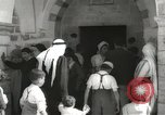 Image of Annual pilgrimage to Nabi Musa (Tomb of Prophet Moses) Palestine, 1945, second 22 stock footage video 65675062974