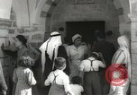 Image of Annual pilgrimage to Nabi Musa (Tomb of Prophet Moses) Palestine, 1945, second 23 stock footage video 65675062974