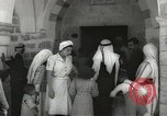 Image of Annual pilgrimage to Nabi Musa (Tomb of Prophet Moses) Palestine, 1945, second 28 stock footage video 65675062974